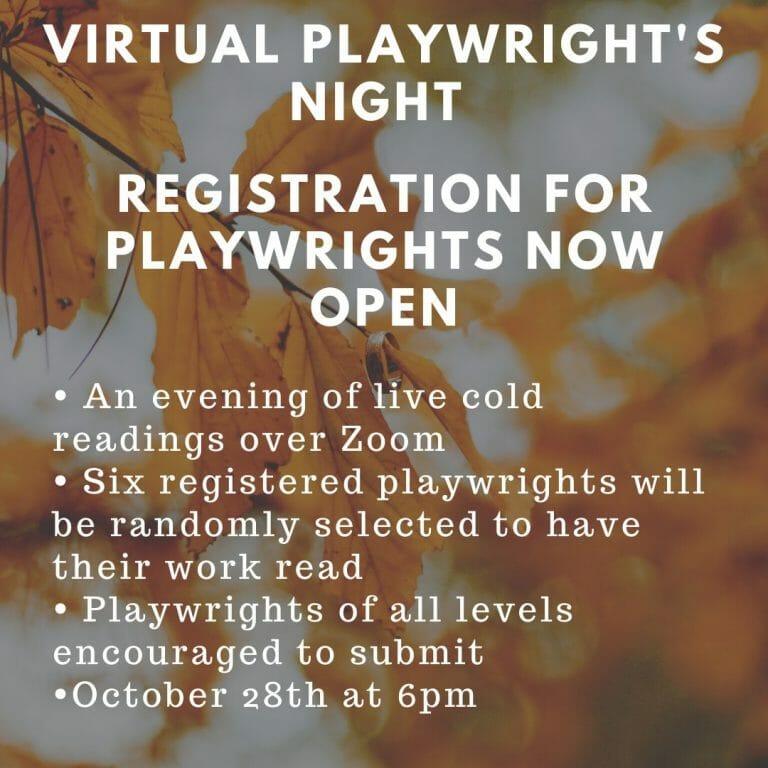 Playwrights Night - October