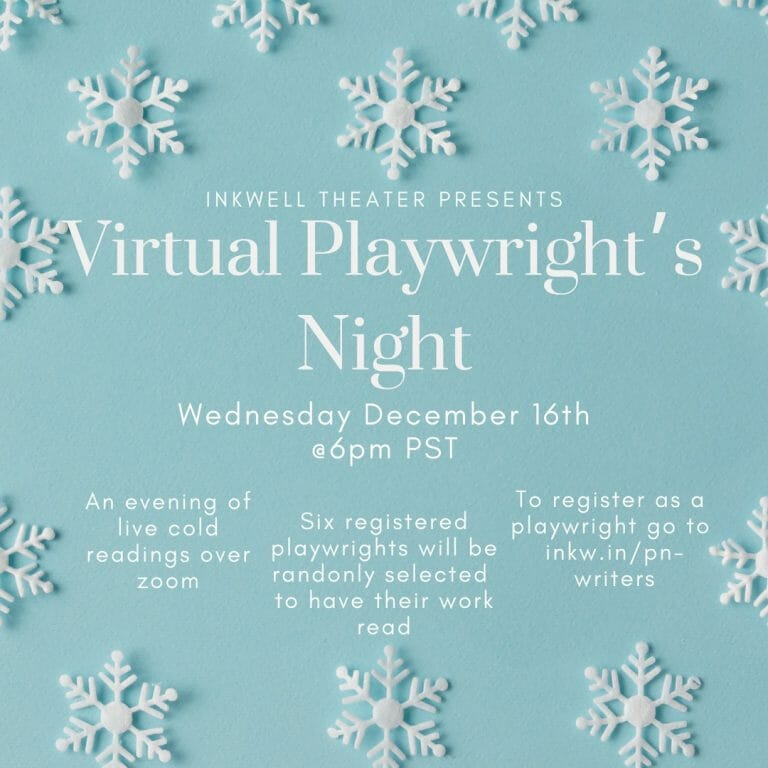 Playwrights Night December