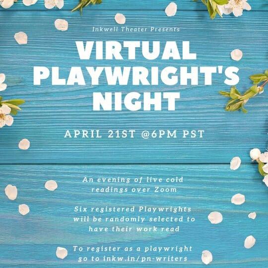 Playwrights' Night April